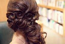 Hairstyling inspiration / Looking for inspirational hairdo's / by Sandra Van Uffelen Visagie