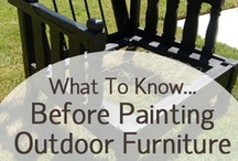 Paint & stain tips/product. / by Ronna Harness-Barber
