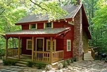 Cabins & cottages. / by Ronna Harness-Barber