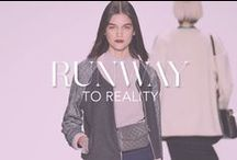 Runway to Reality / How to wear looks from our Fall '14 runway show right now / by Rebecca Minkoff