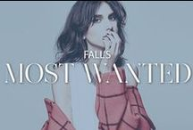 Fall's Most Wanted / Cool-weather essentials you need for this season / by Rebecca Minkoff