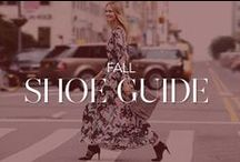 Fall Shoe Guide / All the styles you need to strut into the new season / by Rebecca Minkoff