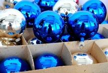 ornamentos de vidro de Natal / antigos / by Ana Cristina Caldatto