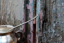 pintura craquelada / enferrujado / amo: craquelado...  enferrujado... gasto...velho / by Ana Cristina Caldatto