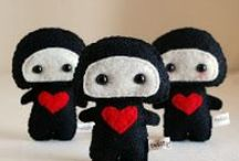 So Crafty: Plushies, Felties...oh my / by Smirking Revenge
