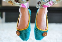 Crochet tutorials socks, slippers etc. / Tutorials for knitting socks, slippers, legwarmers and boot toppers. / by Jeannette