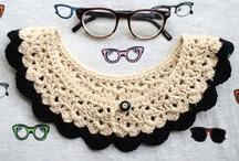 crochet tutorials collars / by Jeannette
