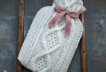 Hot water bottles tutorials / Tutorials for hot water bottles. Crocheted, knitted. / by Jeannette