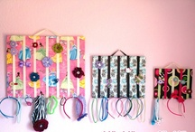 diy hairbow holder... / by Orra Timmons