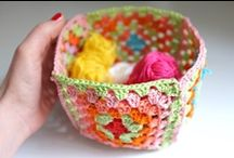 Crochet tutorials baskets / by Jeannette
