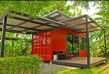 Shipping Container Love / by elev8 dezign consulting