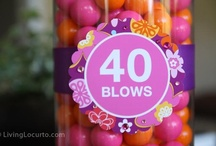 40th Birthday Party Ideas / by Tracy Richardson