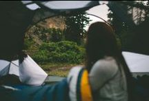 photo: outdoors. hike. camping. / by Yoga Librarian