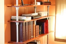 Industrial Pipe Shelves / DIY industrial shelves that are typically made with pipe. / by Simplified Building