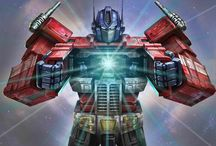 Transformers / Transformers. More than meets the Eye. Robots in Disguise. / by ABH-1979
