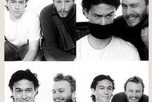 JosephGordon-Levitt&HeathLedger / Both these actors are amazing! / by Paige Ramey(: