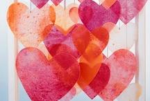 Valentine's Day Kid Crafts / by ((♪))