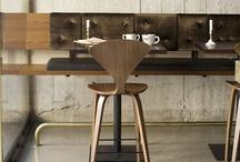 cafe interiors / by Pamela Carrasco