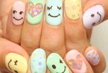 Nails Nails Nails / Nail ideas! / by Pucca Arenas