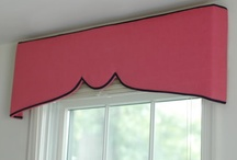 Curtains & Cornice Boards / window dressing  / by suza wag