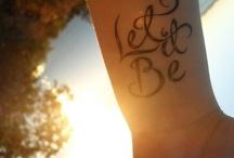 Tattoos<3 / by Morgan Steele