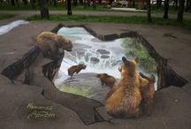 **Sidewalk Art / by Dixie