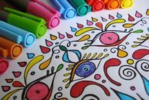 Colouring In / by Audra Nightingale