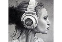 Music Oh How I Love Thee / by artist Lara Harris