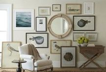 A Gallery of Your Own!...Gallery Wall / support the arts...be a well rounded, cultural individual...curate your own gallery wall...(& by the way, I paint ;)  / by artist Lara Harris