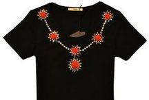 Camisetas Otoño. / Collares Colección otoño. www.sinforey.es / by La Boutique de Sinforey