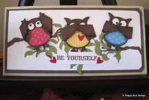 Stampin Up! Inspiration / Inspiration from Stampin Up's line of stamps and papercrafting tools.  / by Lisa Hall