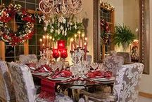 Christmas..Tablescapes / by Marilyn Ledford