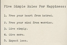 positivity.  / by Danielle