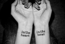 tattoos / by Ashley Brownstein