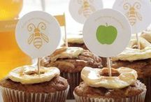 Rosh Hashana Cupcakes by Cupcake Project Pinterest Explorers / Cupcakes to bring in a sweet new year.  This board is curated by the Cupcake Project Pinterest Explorers. Learn how to join here: http://www.cupcakeproject.com/join-the-pinterest-explorers. Our mission is to scout, pin, and share cupcake fun! / by Cupcake Project