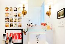 Home ~ SDB & toilettes / by Charlotte Pinson