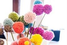 DIY ~ pompons!! / by Charlotte Pinson