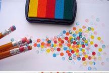 DIY ~ tampons à encre/peinture / by Charlotte Pinson