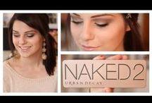 Get Naked with Urban Decay / Tutorial ideas for the Urban Decay Naked Series; I'm constantly reaching for my own palettes and I love to be inspired with ideas.  Here, you can pretty much have a year's worth of looks with just your naked, naked2, basics, and now naked3.  Thanks for visiting! / by Amber Finnegan