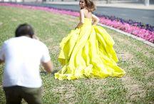 Wedding Dresses / Ideas for my wedding dress. Mermaid style, bright neon colors....  / by Robyn Villanueva Keller
