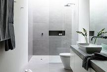 in the bathroom / by Ana Karen del Valle