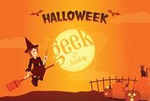 Geeky Halloween / your go-to for geeky costume ideas, decorations, recipes, and general Halloween revelry!  / by Geek & Sundry