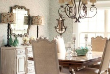 Dining Rooms / by The Decorated House ♛ Donna