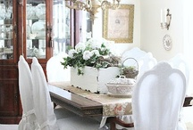 Slipcovers Mostly White * DIY & Tutorials, too. / by The Decorated House ♛ Donna