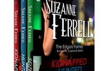 My Books! / by Suzanne Ferrell, romantic suspense author