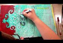 Vídeos Tutoriais Art Journal / by Andrea Guim