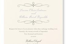 Wedding: Neutrals / Subtle and distinctive. / by William Arthur Fine Stationery