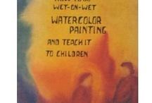 WALDORF ART BOOKS / by Anita Walsh