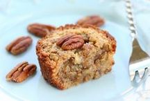 Pecan Recipes / My favorite nut...next to my youngest son, of course! / by Octoberbeauty