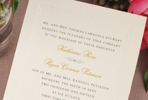 ALL NEW Weddings: Embossed Borders / by William Arthur Fine Stationery